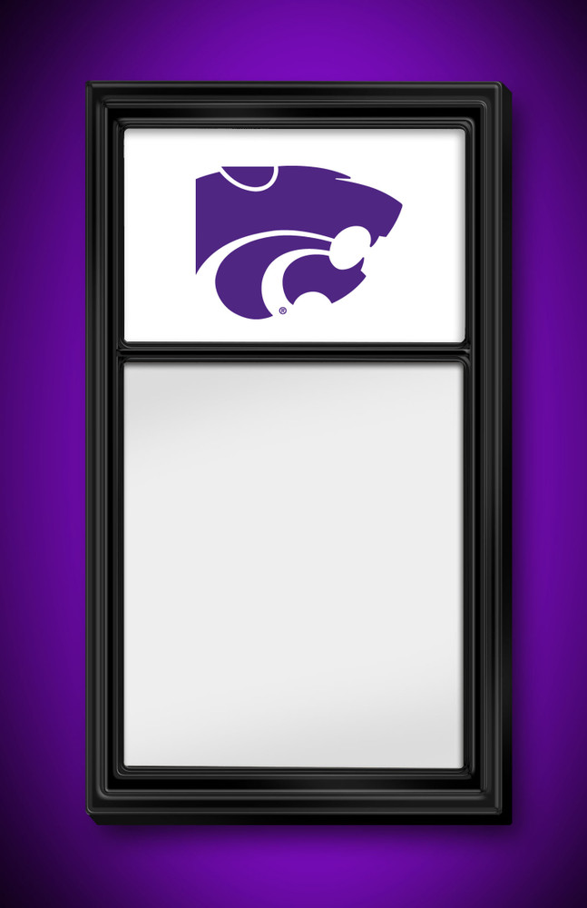 Kansas State Wildcats Team Board Whiteboard Logo | Grimm Industries | KS-610-01