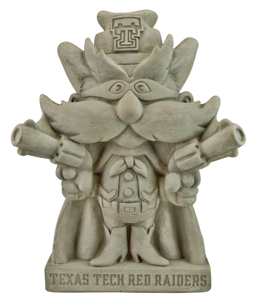 Texas Tech Raiders Vintage Mascot Garden Statue | Stonecasters | 2941TR