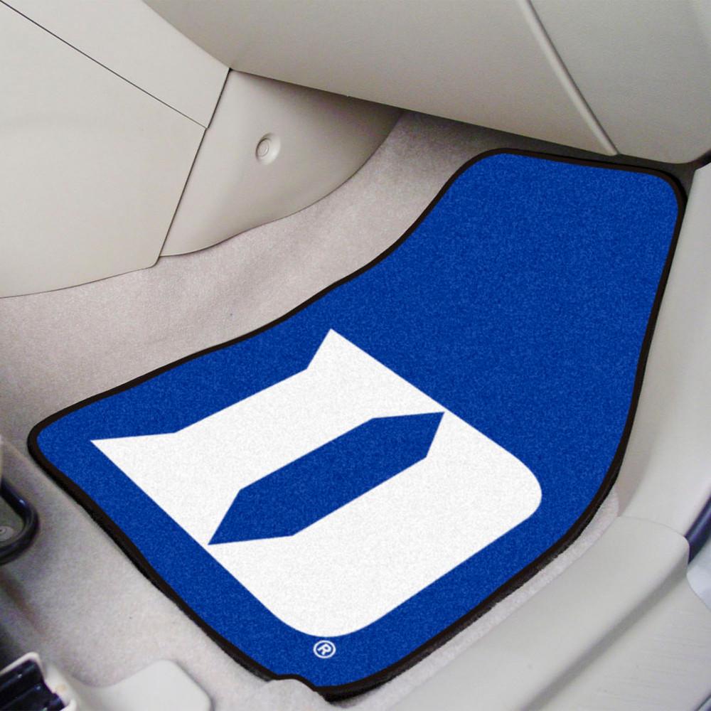 Duke Blue Devils Carpet Floor Mats Logo   Fanmats   19573