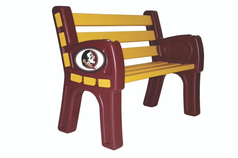 FSU Seminoles Park Bench   Imperial  388-3003