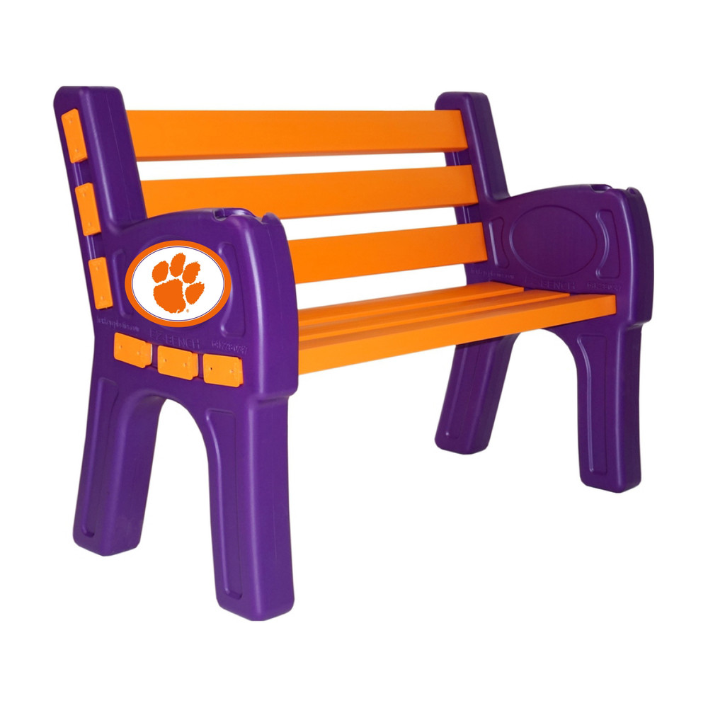 Clemson Tigers Park Bench | Imperial | 388-3043
