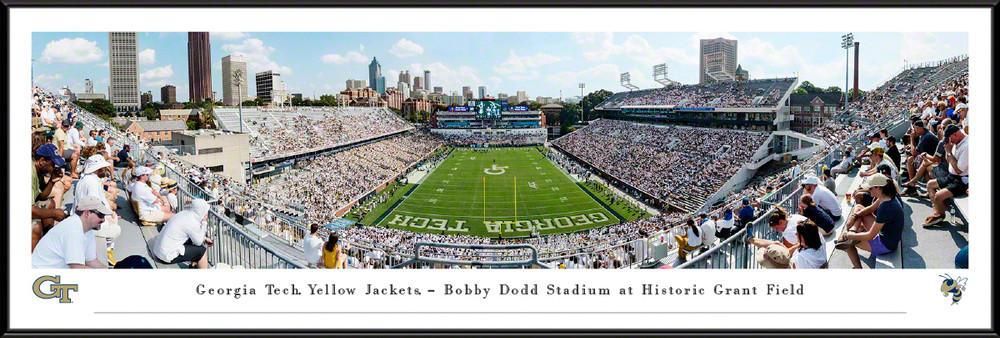 Georgia Tech Yellow Jackets Panoramic Stadium Photo Print   Blakeway   GAT2