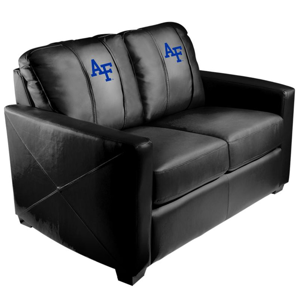 Air Force Falcons Silver Love Seat | Dreamseat | XZ7759003LSCDBK-PSCOL13281