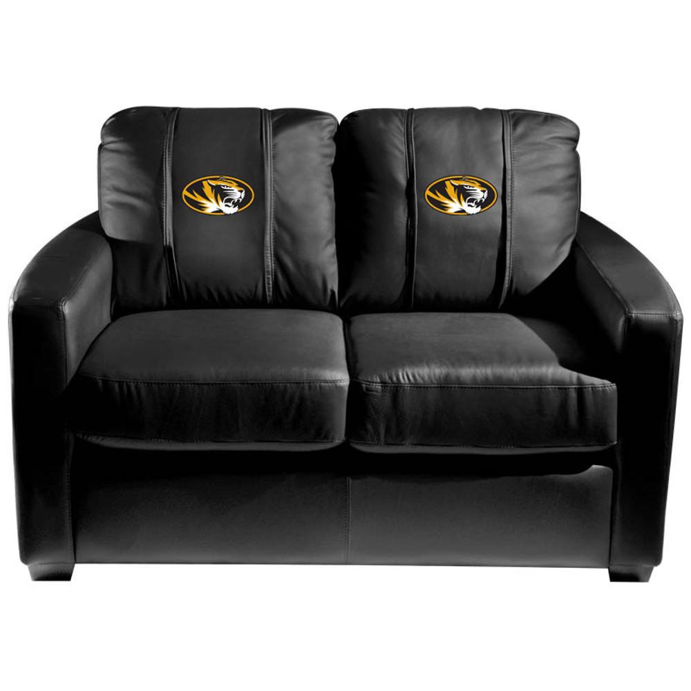 Missouri Tigers  Silver Love Seat | Dreamseat | XZ7759003LSCDBK-PSCOL13595