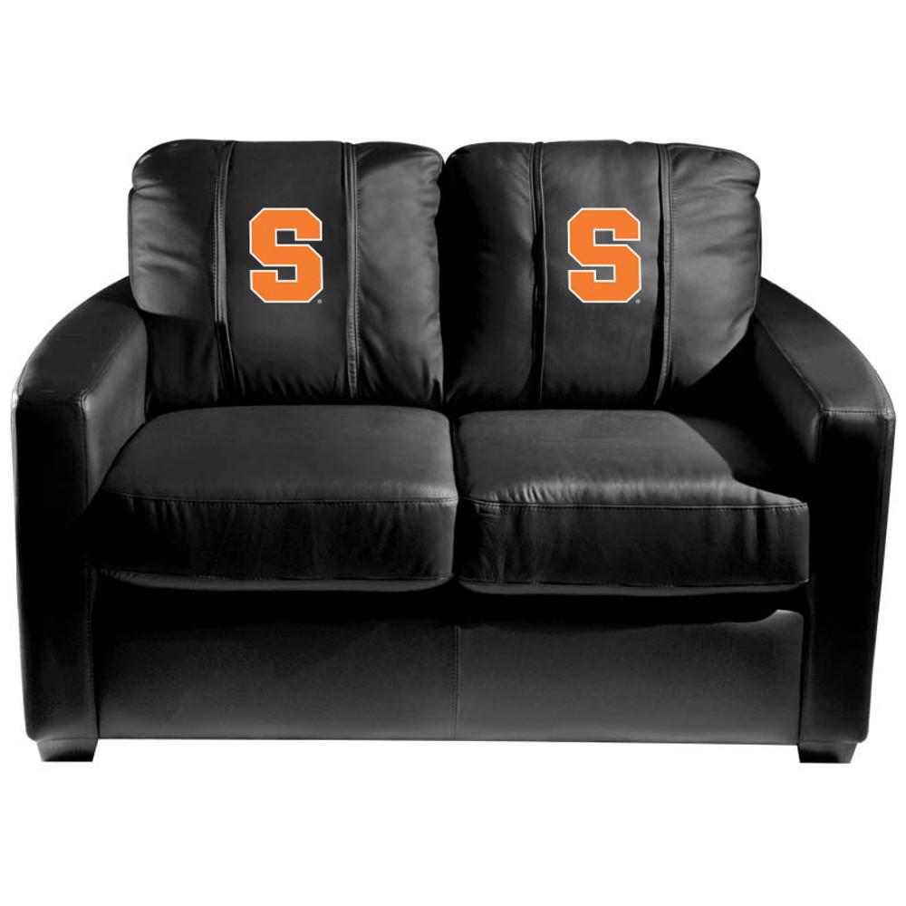 Syracuse Orange  Silver Love Seat | Dreamseat | XZ7759003LSCDBK-PSCOL13265