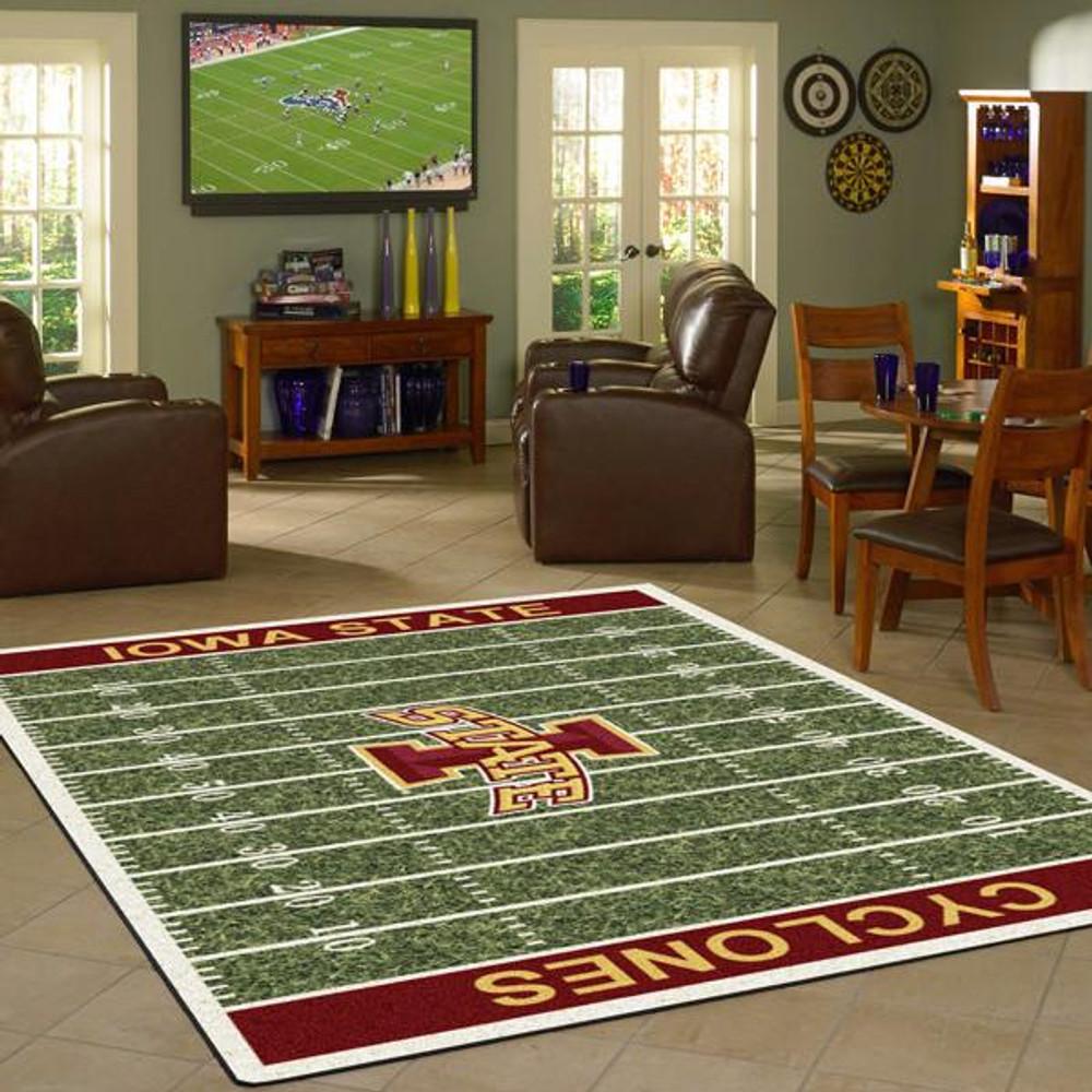 Iowa State Cyclones Football Field Rug | Milliken | 4000054628