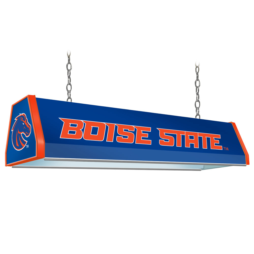 Boise State Broncos 38 inch Standard Pool Table Light-Blue | Grimm Industries |BS-310-01