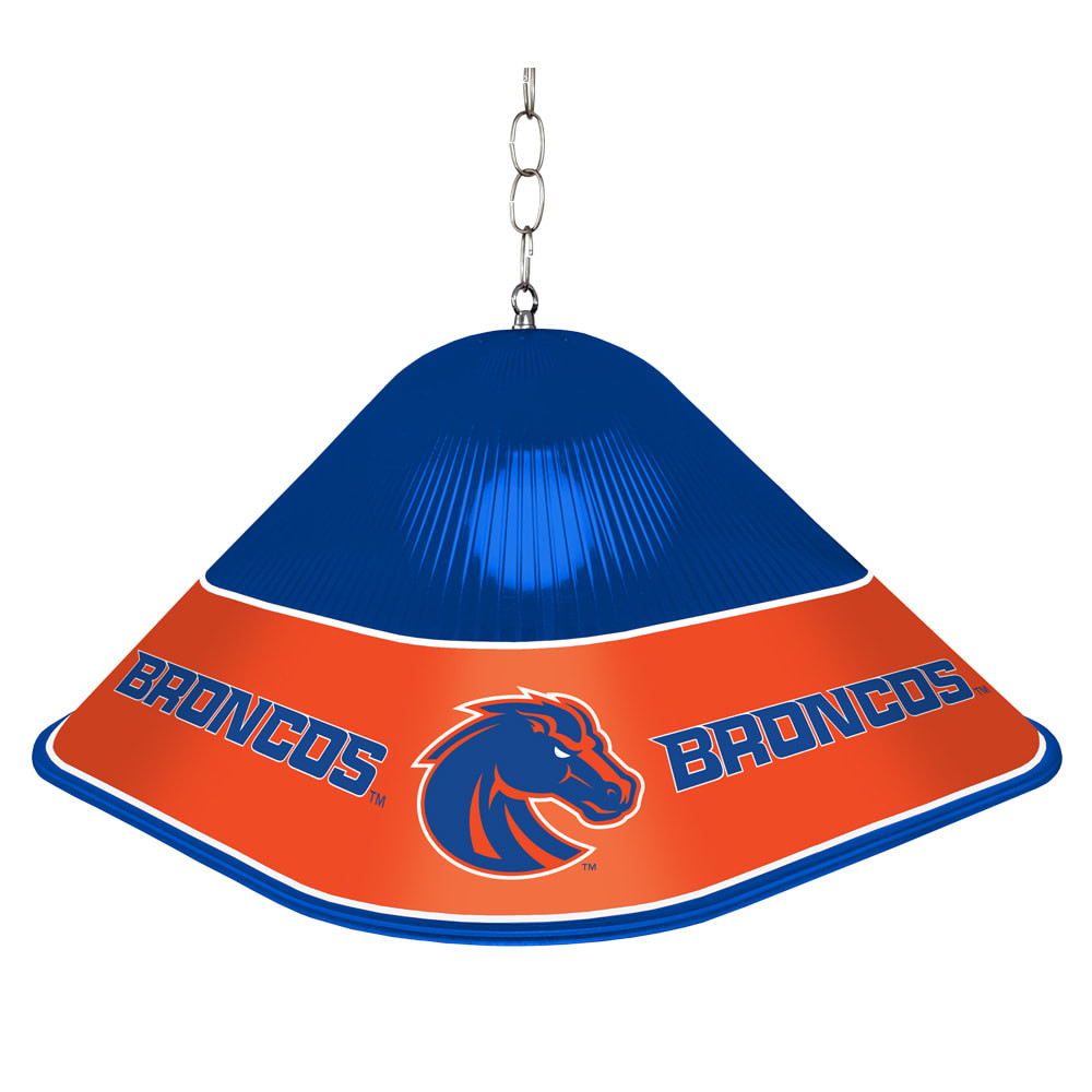 Boise State Broncos Game Table Light-Square-Blue | Grimm Industries |BS-410-01