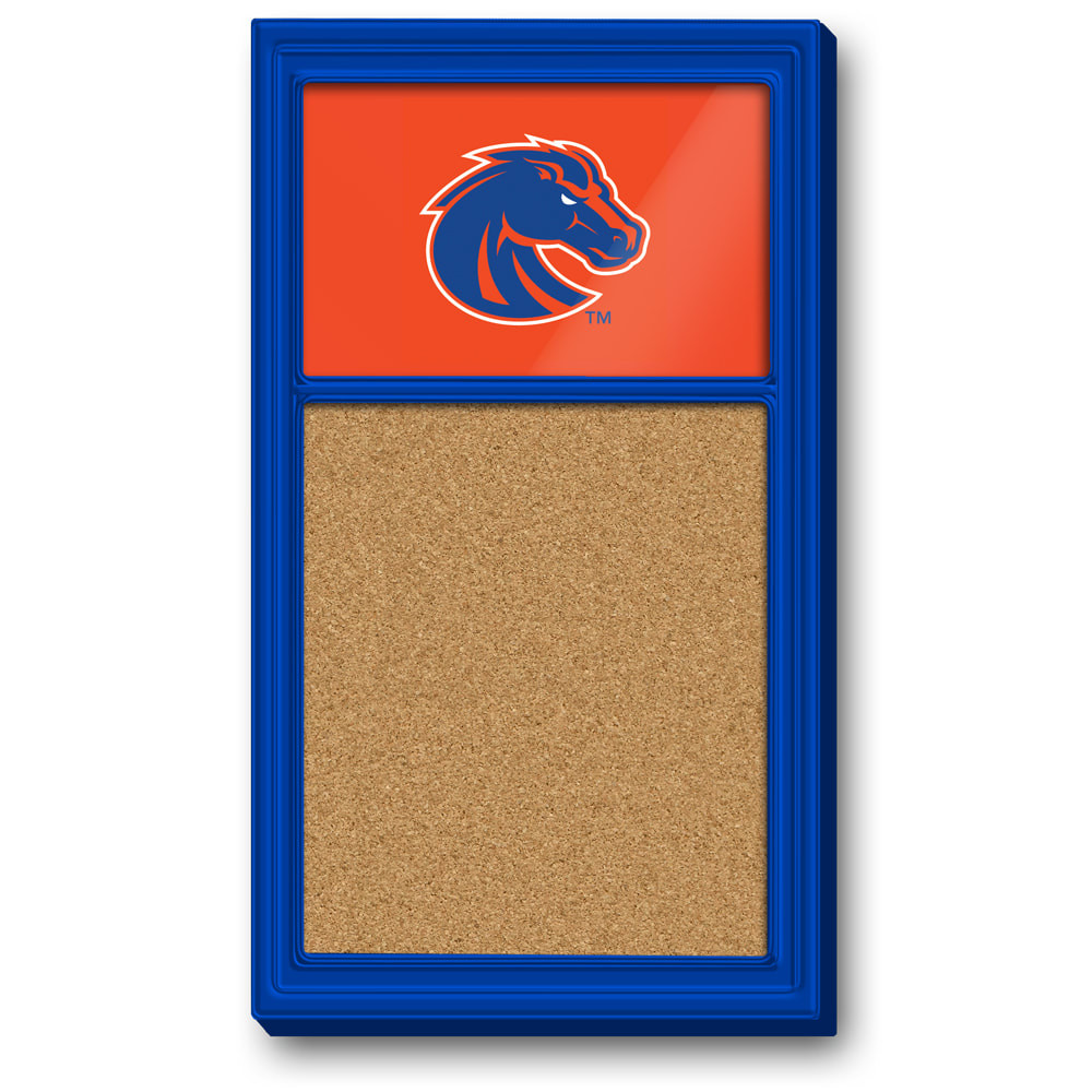Boise State Broncos Team Board Corkboard-Primary Logo | Grimm Industries |BS-640-01