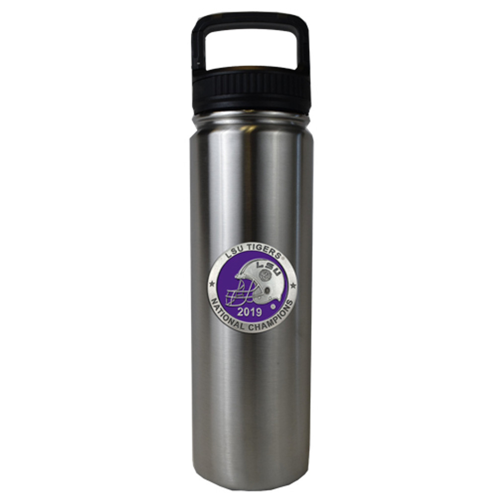LSU Tigers National Champions Water Bottle | Heritage |LWR11226EP