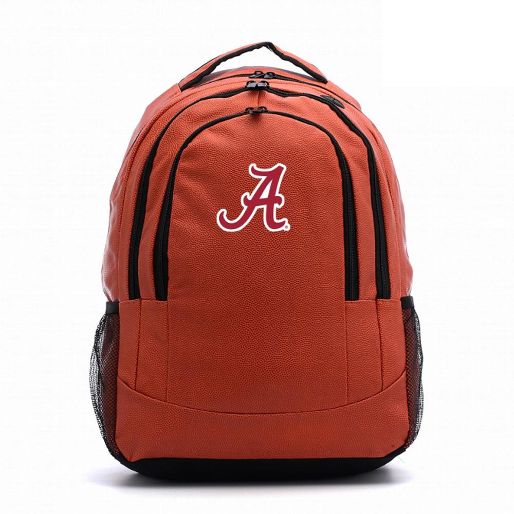 Alabama Crimson Tide Basketball Backpack   Zumersport   alabsktbp