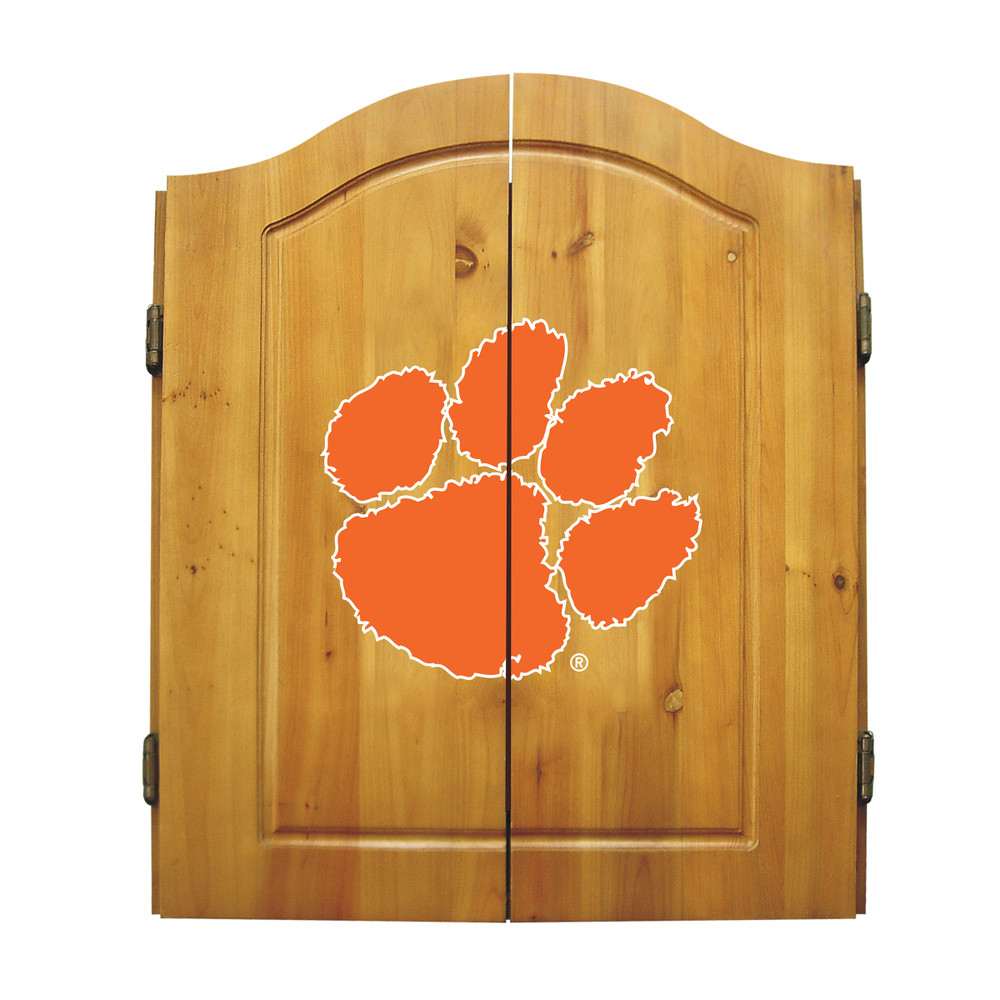 Clemson Tigers Dart Board Cabinet | Imperial International | 58-4043