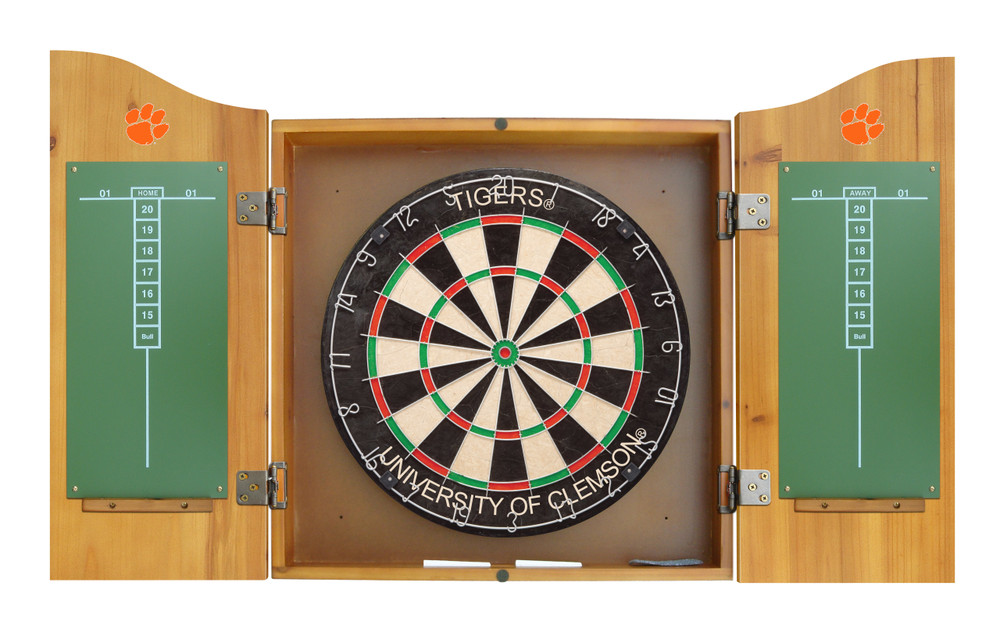 Wisconsin Badgers Dart Board Cabinet | Imperial International | 58-4013