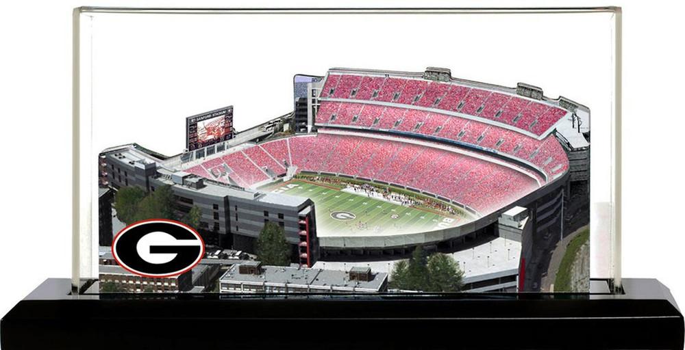 Georgia Bulldogs Sanford 3-D Stadium Replica Homefields  2000452D
