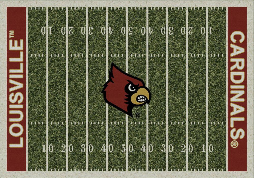 Louisville Cardinals Football Field Rug | Milliken | 4000054632
