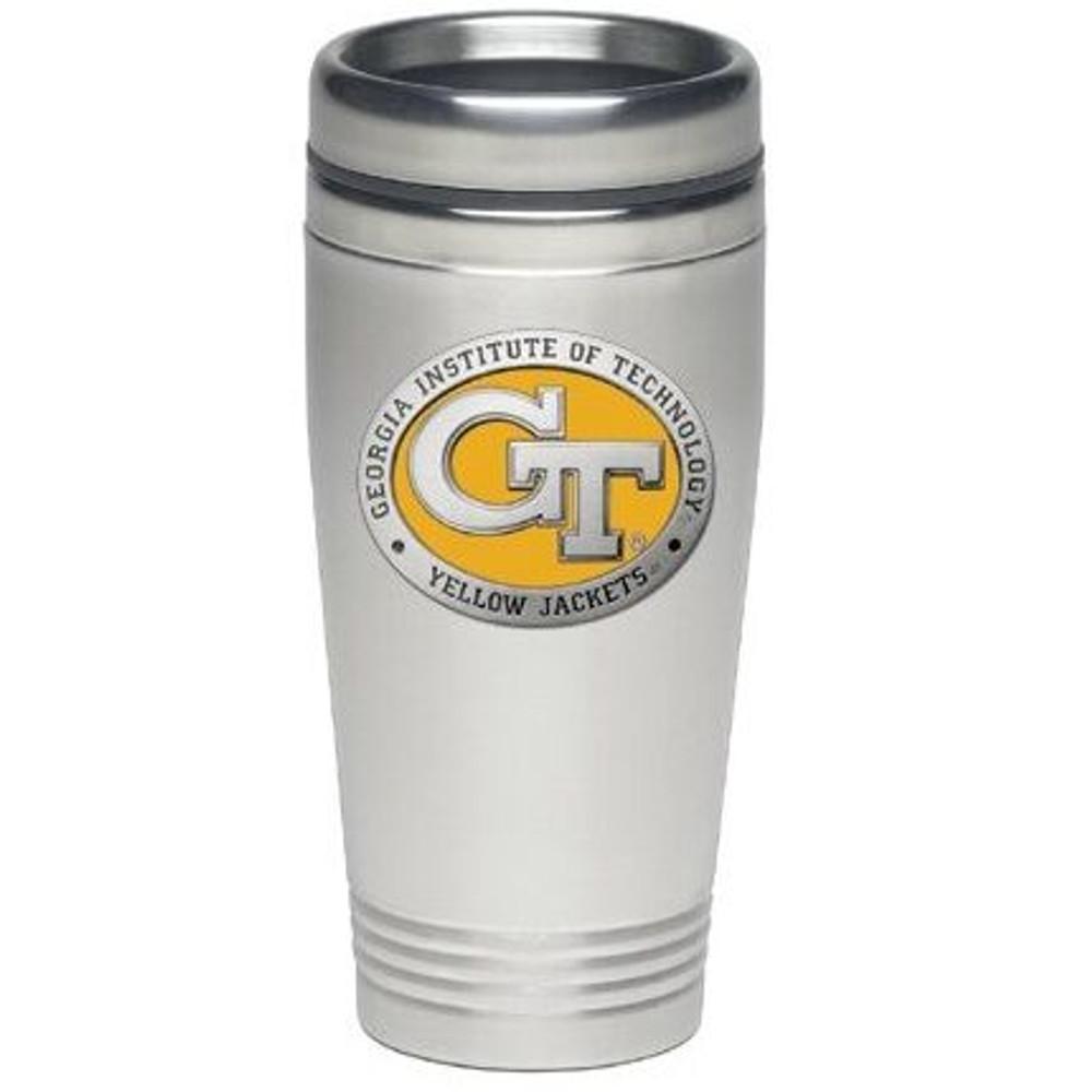 Georgia Tech Yellow Jackets Thermal Mug | Heritage Pewter | TM10463EY