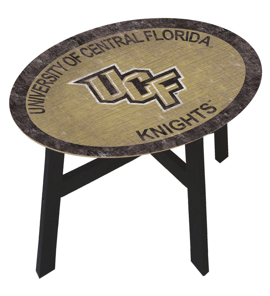 UCF Knights Team Color Side Table  FAN CREATIONS   C0825-UCF