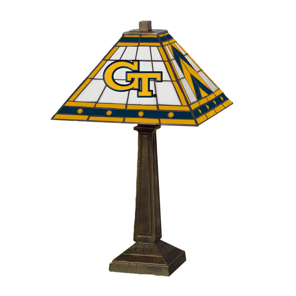 Georgia Tech Yellow Jackets Mission Lamp   Memory Company    COL-GT-290