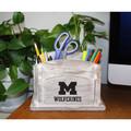 Michigan Wolverines Desk Organizer   Imperial   615-3009