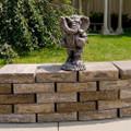 Alabama Crimson Tide Vintage Mascot Garden Statue