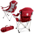 Indiana Hoosiers Reclining Camp Chair   Picnic Time   803-00-100-674-0