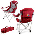 Kansas Jayhawks Reclining Camp Chair | Picnic Time | 803-00-100-244-0