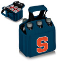 Syracuse Orange 6-Pack Cooler Caddy Tote - Blue | Picnic Time | 608-00-139-544-0-1