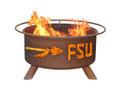 FSU Seminoles Portable Fire Pit Grill | Patina | F211