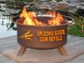 Arizona State Sundevils Portable Fire Pit Grill | Patina | F213-1