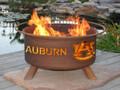 Auburn Tigers Portable Fire Pit Grill | Patina | F405-1