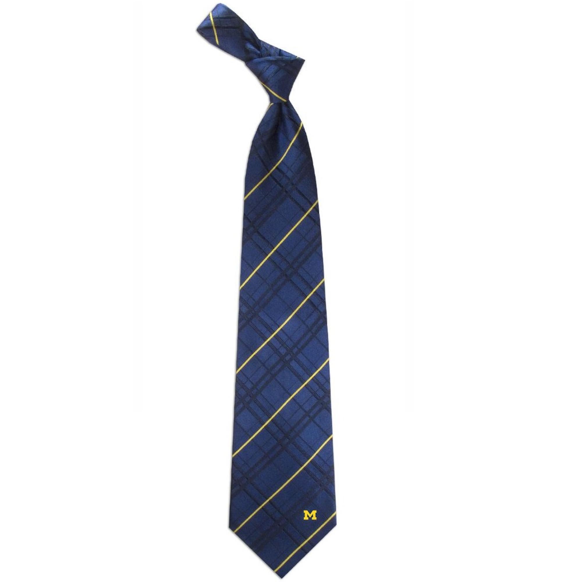 Texas A/&M Oxford Stripe Woven Silk Necktie
