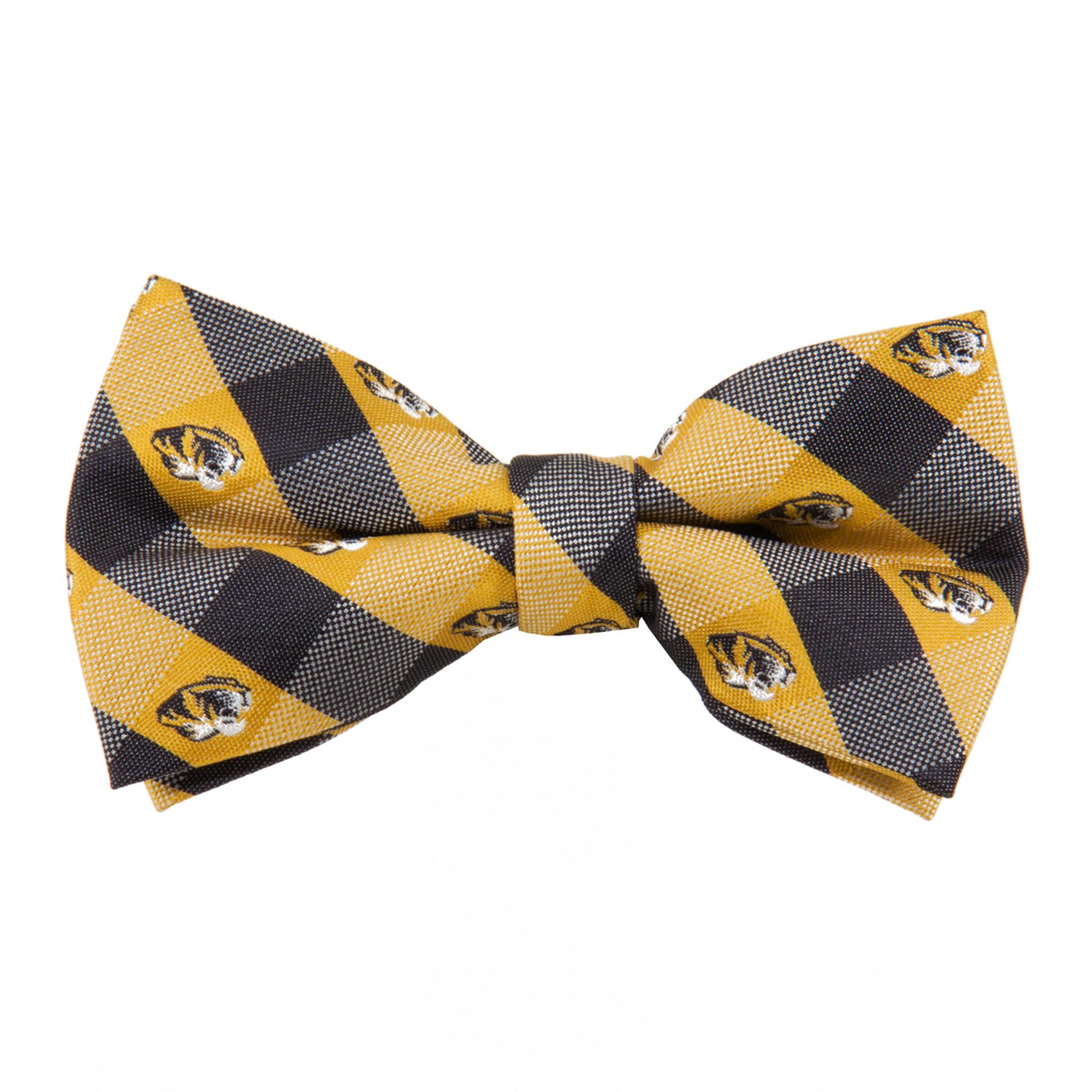 LSU Tigers NCAA Check Poly Necktie