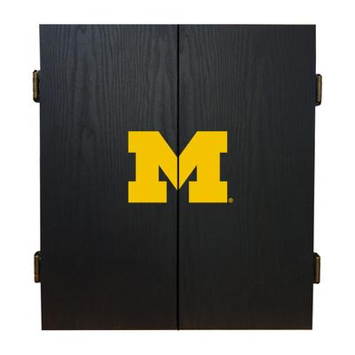 Michigan Wolverines Dartboard Cabinet | Imperial | 624-3009