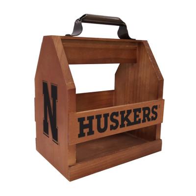 Nebraska Huskers Wood Bbq Caddy| Imperial | 614-3010