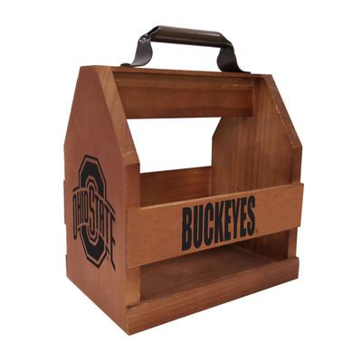Ohio State Buckeyes Wood Bbq Caddy | Imperial | 614-3015