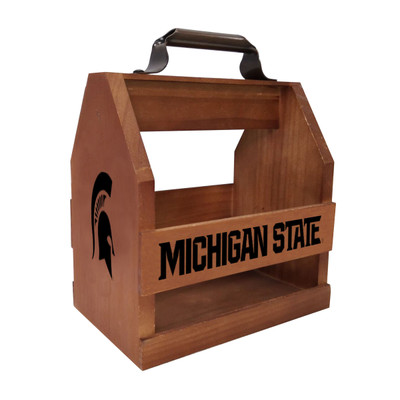 Michigan State University Wood Bbq Caddy |Imperial|IMP 614-3016