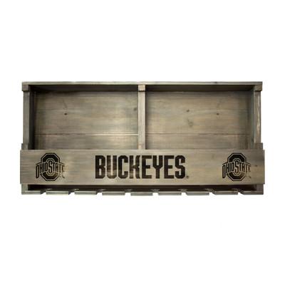 Ohio State Buckeyes Reclaimed Wood Bar Shelf | Imperial |627-3015