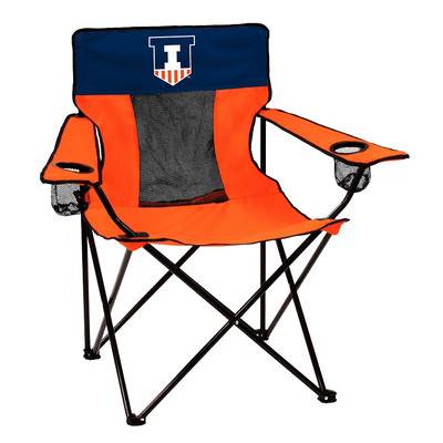 Illinois Fighting Illini Elite Tailgate Chair | Logo Chair | 151-12E