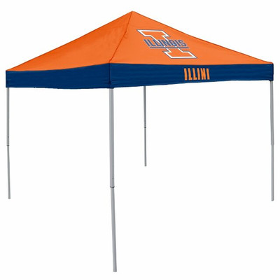 Illinois Fighting Illini Canopy Tailgate Tent | Logo Chair | 151-39E