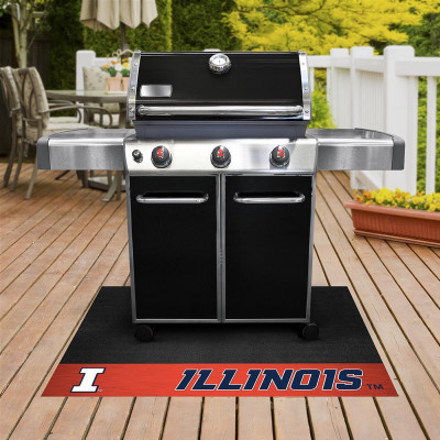 Illinois Fighting Illini Grill Mat | Fanmats | 12119
