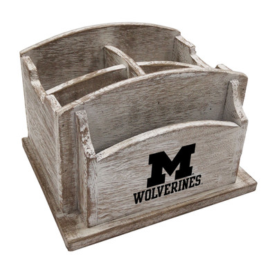 Michigan Wolverines Desk Organizer | Imperial | 615-3009
