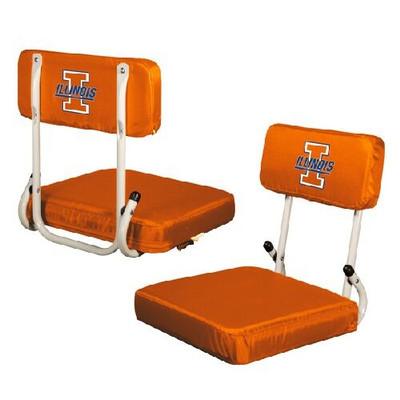 Illinois Fighting Illini Hard Back Stadium Seat | Logo Chair | 151-94