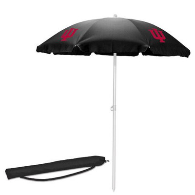 Indiana Hoosiers Beach Umbrella | Picnic Time | 822-00-179-674-0