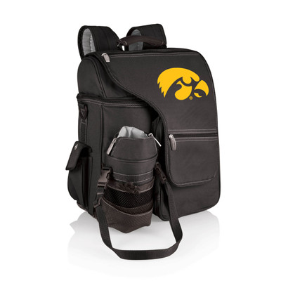 Iowa Hawkeyes Backpack Cooler Turismo | Picnic Time | 641-00-175-224-0