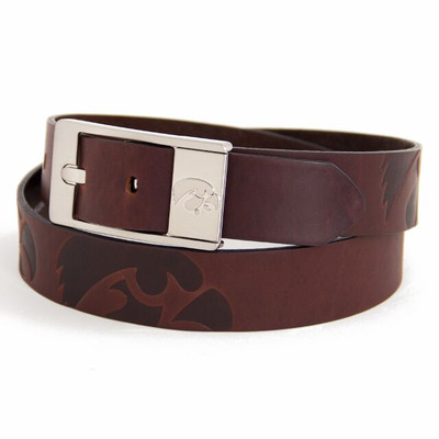 Iowa Hawkeyes Brandish Brown Belt | Eagles Wings | 9269-