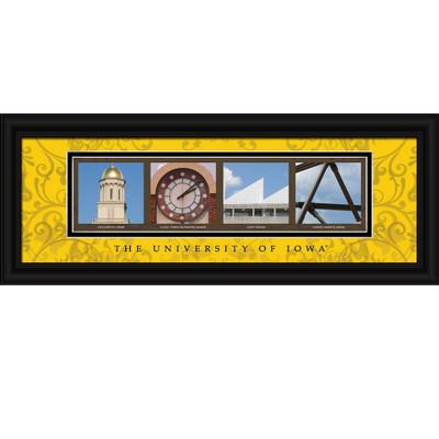 Iowa Hawkeyes Letter Art | Get Letter Art | CLAL1C18IOWA