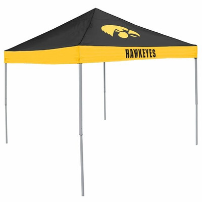 Iowa Hawkeyes Canopy Tailgate Tent | Logo Chair | 155-39E
