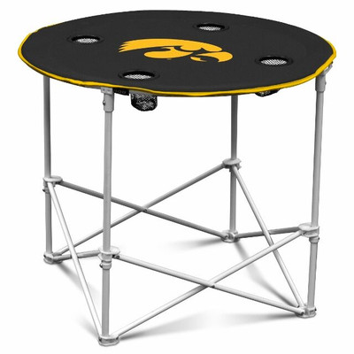 Iowa Hawkeyes Portable Table | Logo Chair | 155-31