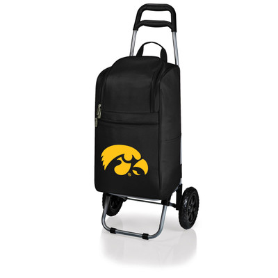 Iowa Hawkeyes Rolling Cart Cooler | Picnic Time | 545-00-175-224-0