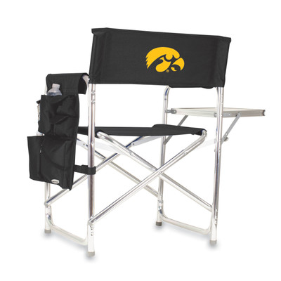 Iowa Hawkeyes Sports Chair | Picnic Time | 809-00-179-224-0
